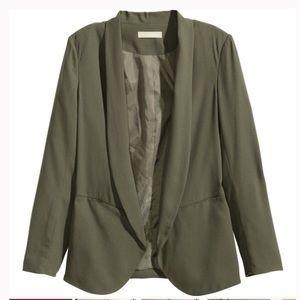 H&M Olive Green Blazer Size 2